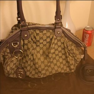 Gucci bag. Suky Violet shoulder handbag
